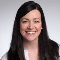 Caroline O'Rourke, MSN, CPNP, is a nurse practitioner with Georgetown Pediatrics